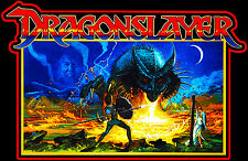 80's Fantasy Classic Dragonslayer British Poster Art custom tee AnySize AnyColor