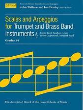 ABRSM Treble Clef Brass Scales & Arpeggios, Grades 1-8 - Same Day P+P