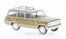 BREKINA 19856 – Jeep Wagoneer, effetto legno – 1:87