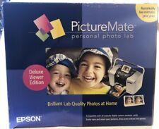 Epson PictureMate 500 Deluxe Personal Photo Printer