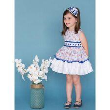 Vestido de niña Dolce Petit color azul -  Dolce Petit -  Colección DOLCE PETIT V