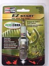 QUANTITY (2) Champion DJ6J 851EZ Spark Plug lawn, Cheaper than Amazon! EZ START!