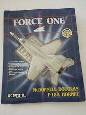 ERTL FORCE ONE 1035 McDonnell Douglas F-18A HORNET 1989 Die Cast Model NEW