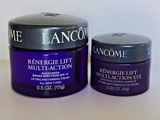 New! Lancome Renergie Lift Multi-Action Firming DAY SPF 15 Face & EYE Cream Lot