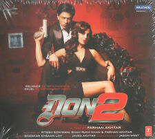 DON 2 - Bollywood Soundtrack CD zum Film mit Shah Rukh Khan