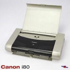 Mobile Printer Canon Bubble Jet i80 Printer Ink-Jet Printer as DEFECTIVE Vat