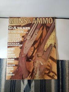 AUGUST 1967 Guns & Ammo Gun Magazine INDIAN SHIKAR AFRICAN SAFARI S1