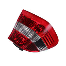 For 02-05 BMW E46 3 Series 4 Door Tail Light  Lamp Rear Left Red & White Lens