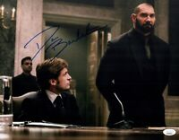 DAVE BAUTISTA Signed SPECTRE 11x14 Photo In Person Autograph JSA COA