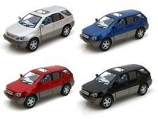 "Kinsmart Set of 4: 5"" Lexus Rx300 diecast model toy car 1:36 scale"
