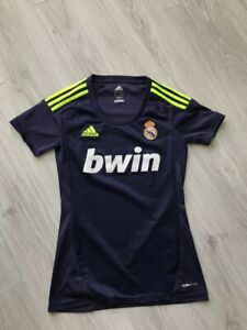 REAL MADRID 2012/2013 AWAY FOOTBALL SHIRT SOCCER JERSEY WOMANS S LADIES W41785