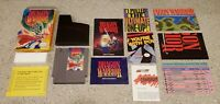 Dragon Warrior I 1 i Nintendo NES Game Manual Box Map Chart Letter Complete CIB!