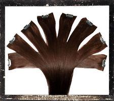 Clip in Extensions Strähne Haarverlängerung Extensions Human Hair 50 cm