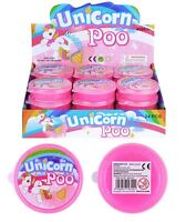 Unicorn Poo Pink Glitter Slime Putty Squishy tub Kids Party Bag Fillers 1 OR 6