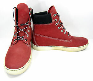 Timberland Shoes 6 Inch Premium Red Boots Size 10.5