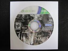 Rise of Nightmares (Microsoft Xbox 360, 2011) game only