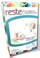 SAFE SLEEP SOLUTION 0-9M Swaddle Wrap-For Crib Safety NRFB New Other RESTE