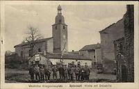 Feldpostkarte aus Spincourt Ortswache Frankreich AK Feldpost gelaufen 1. WK WWI