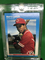 1987 Fleer Set Break #204 Barry Larkin NM-MT Rookie Card HOF Cincinnati Reds RC