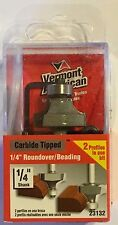 "Vermont American 23132 1/4"" Roundover/Beading-1/4 4; Shank-Carbide Router Bit"