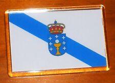 Galicia state flag fridge magnet
