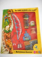 The Lone Ranger 1973 Marx - Gabriel Hopi Medicine Man Rare German Version Mint