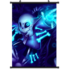 Anime Undertale Sans Wall Poster Scroll  s3154