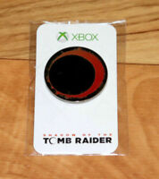 Shadow of the Tomb Raider Rare Promo Pin Badge Gamescom 2018 E3 Xbox One PS4