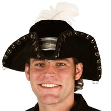 Pirate Pimp Hat Feather Rings Adult Teen