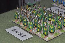 25mm roman era / roman - legionaries 24 figs infantry - inf (21645)
