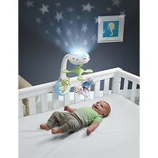Baby Musical Cot Bed Toy Newborn Remote Mobile Projection Crib Light Pram Sleep