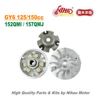 TZ-04 125cc 150cc Variator Set Drive Pulley GY6 Parts Chinese Scooter Motor