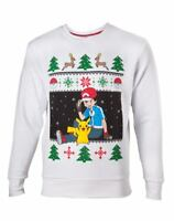 Pokemon Sweater Ash & Pikachu Christmas on Request