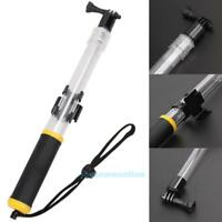 Clear Waterproof Float Handheld Monopod Selfie stick Pole For GoPro Hero2 3+ 4 5