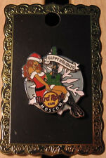 Hard Rock Cafe Moscow Christmas 2013 Girl pin Le300