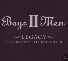 BOYZ II MEN - LEGACY : GREATEST HITS CD ~ ON BENDED KNEE ~ 90's R&B / POP *NEW*