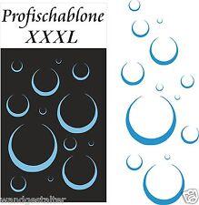 Schablone, Dekoschablone, Wandschablone, Wandtattoo, Stencils, Seifenblasen XXXL