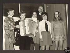 """""""LES POUSSES DU BERRY"""" accordeon CRUCIANELLI / Carte postale"""