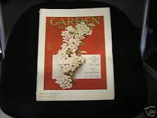 Garden Magazine May 1920 Art Deco Nouveau