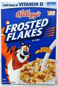 Frosted Flakes of Corn Cereal 15 oz Kellogg's