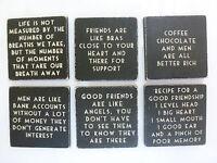 Black Wooden Fridge Magnet Novelty Birthday Gift Mum Sister Girlfriend Valentine
