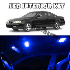 For 97-03 Acura CL 3.2L Blue LED Light Bulb 5050 SMD Interior Kit QTY 12pieces