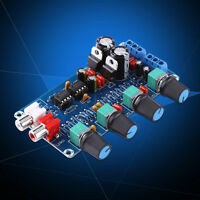 NE5532 OP-AMP HIFI Preamp Preamplifier Volume Tone EQ Control Board Module DIY L