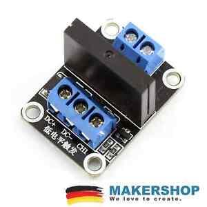 1 Kanal Solid State Relais Modul Relay Arduino Raspberry 5V/230VAC Pi