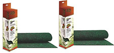 New listing 2 Pack - Zilla Reptile Terrarium Bedding Substrate Liner, Green, 55 Gallon