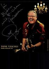 Toni Vescoli Autogrammkarte Original Signiert 16x16 ## G 11707