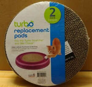 Bergan Turbo Scratcher Replacement Pads 2 Count Pack