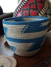 African Rwanda Tutsi woven basket