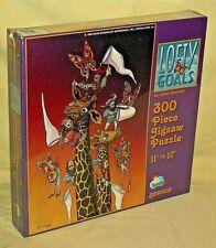 TROLL PUZZLE LOFTY GOALS DAVID BADGER 300 PC SUNSOUT 1996 NEW GIRAFFE BD60005.