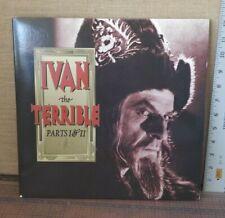 Ivan the Terrible Parts I & II 1944-1946 Sergei Eisenstein Very Rare Laserdisc